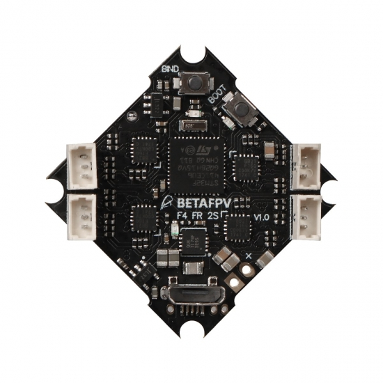 BETA FPV F4 1-2S Brushless Flight Controller (SFHSS RX+OSD)