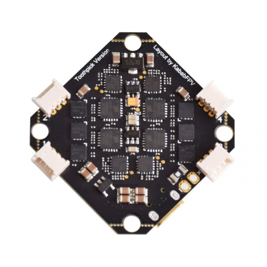 BETA FPV Toothpick F4 2-4S 12A Brushless Flight Controller (コネクタ