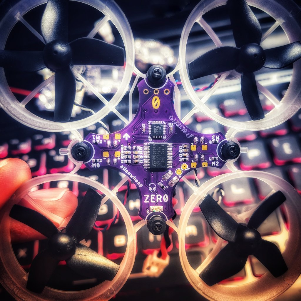 AlienWhoop ZERO Brushed Flight Controller