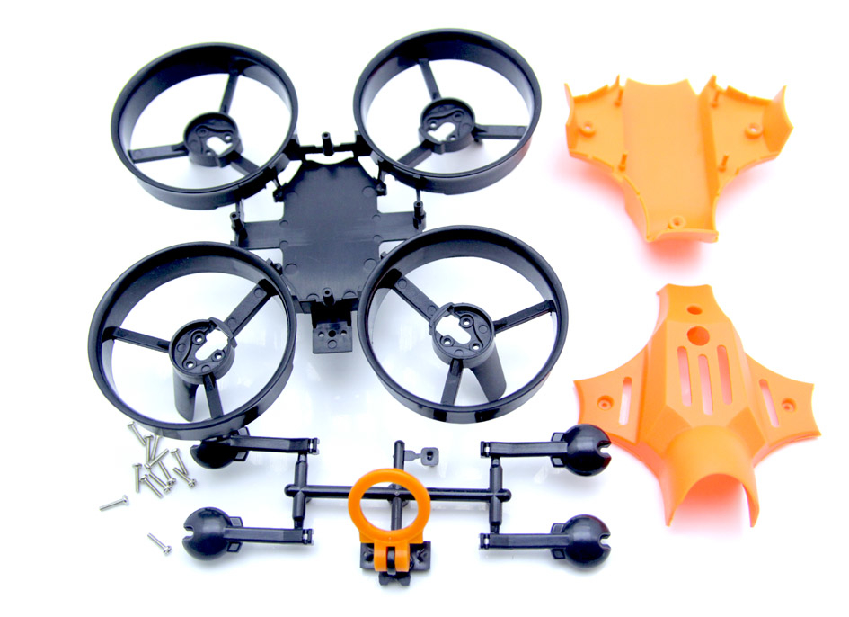 Warlark85PRO用Ducted Fan Quadcopter Frame(ORENGE)