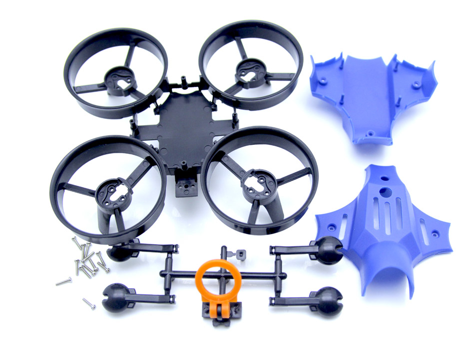 Warlark85PRO用Ducted Fan Quadcopter Frame(BLUE)