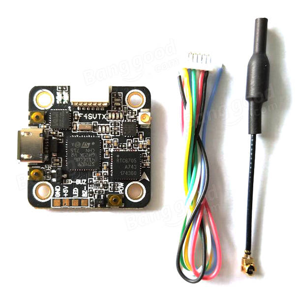 Acro F4 SVTX Flight Controller 25/100/200mW VTX (20x20mm)