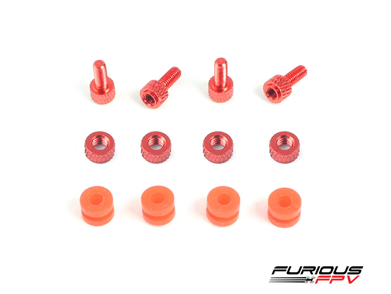 Furious FC CNC Dampening Set M3 - RED