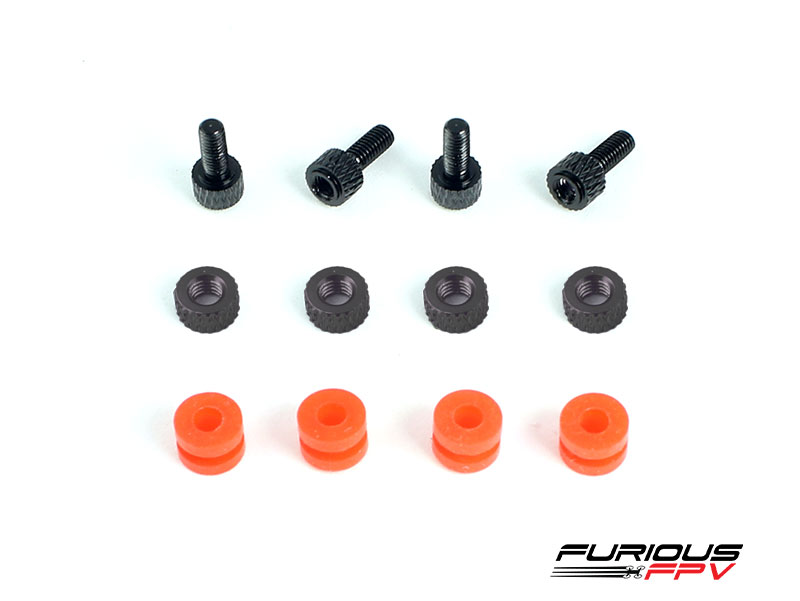 Furious FC CNC Dampening Set M3 - BLACK