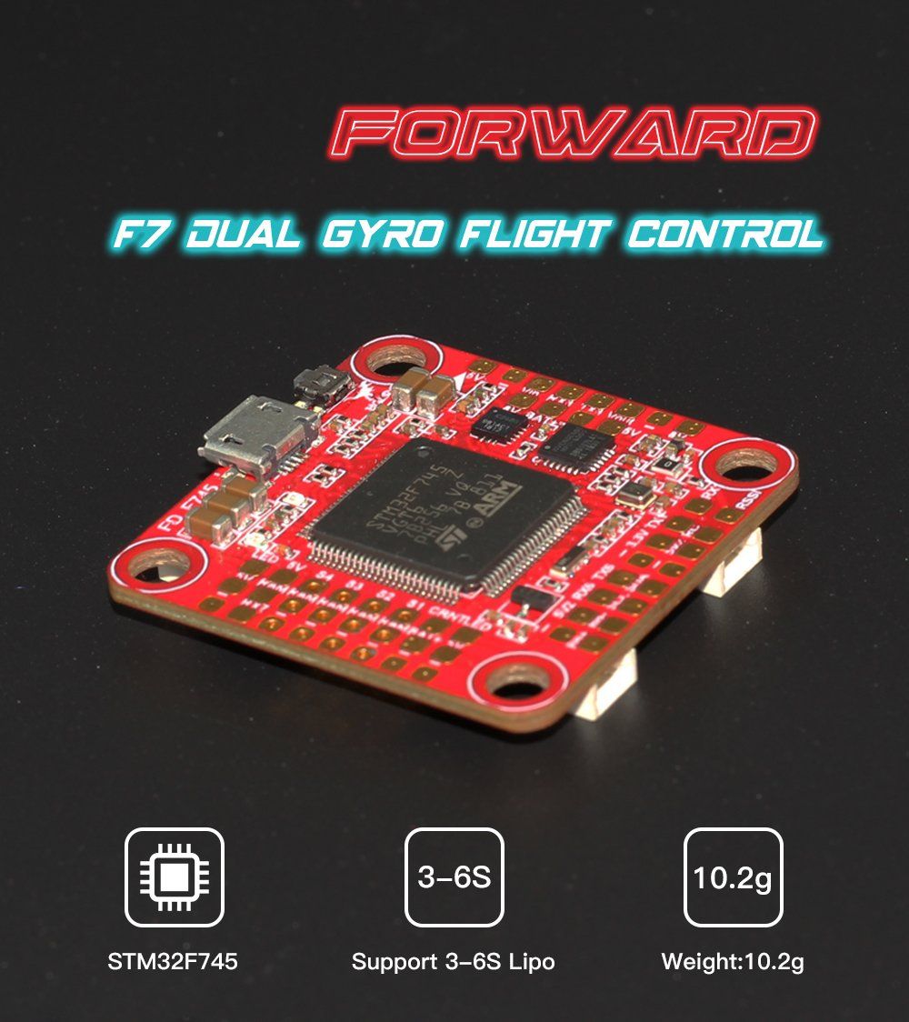 HGLRC Forward F7 Dual Gyro Flight Control