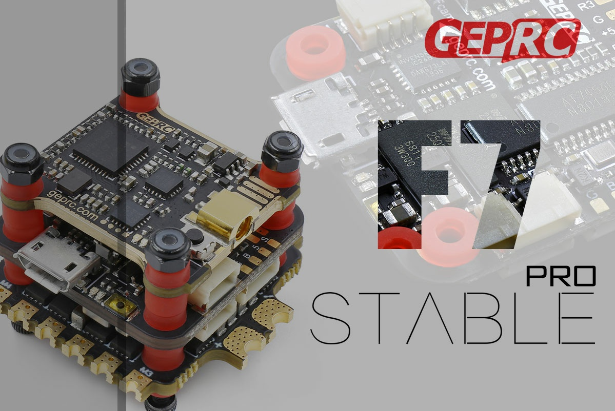 GEPRC Stable PRO F7 Dual + BL32 35A ESC + VTX500mW Mini Tower (2