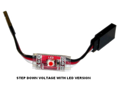 Western Robotics Step Down Voltage Regulator with LED