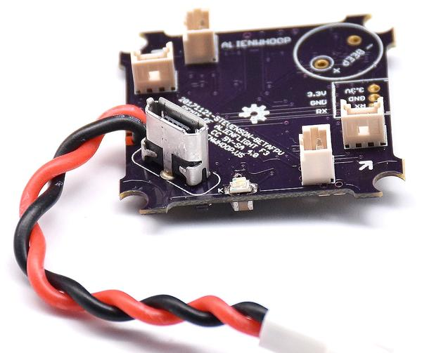 AlienWhoop F4 Brushed Flight Controller (V2)
