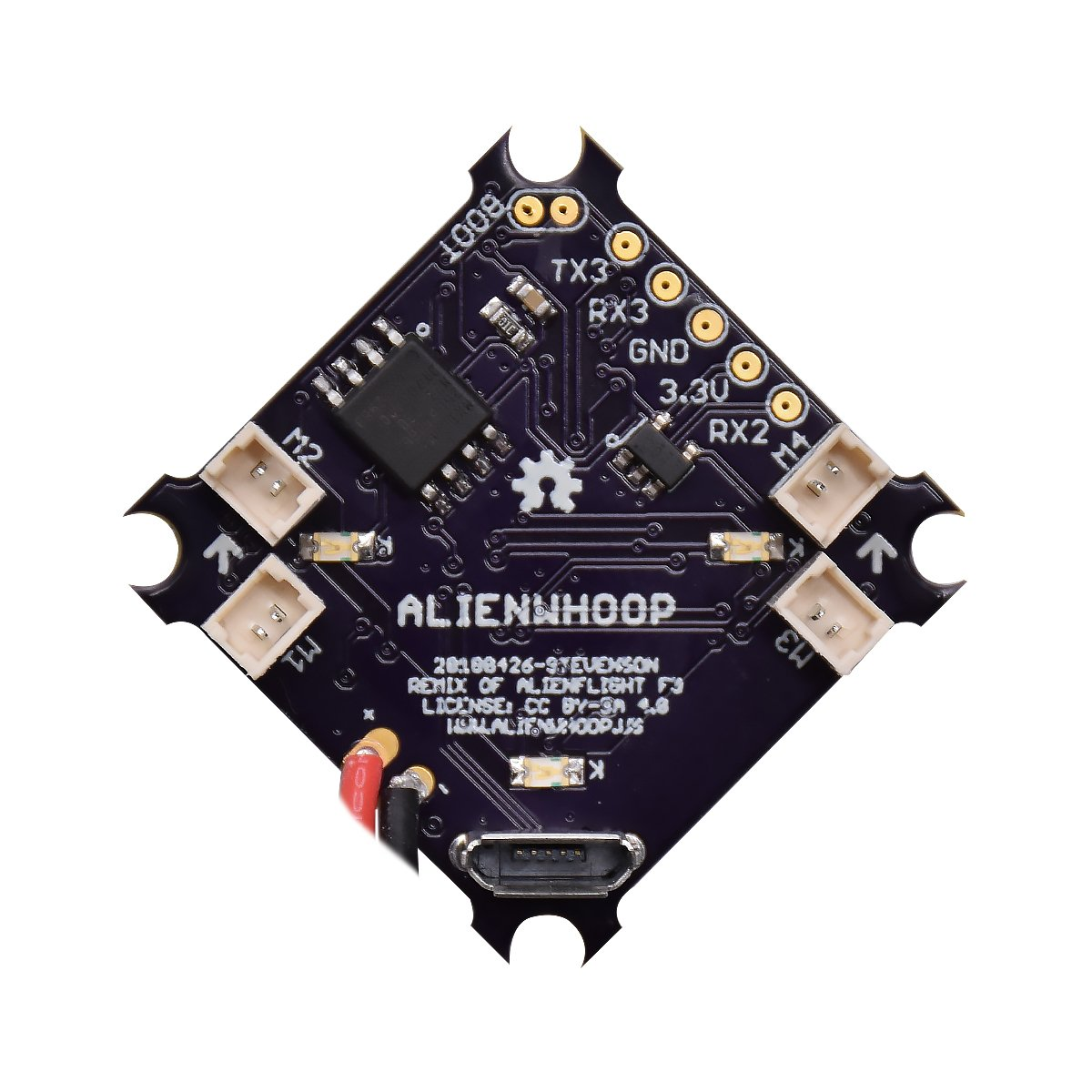AlienWhoop F4 Brushed Flight Controller (V2.1)