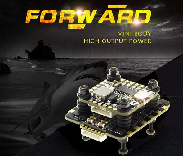 HGLRC FD445 Stack FD F4 Mini Flight Control FD45A 4 In1 Mini BLH