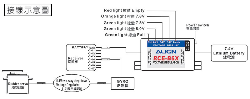 5.1V Two-way Step-down voltage regulator