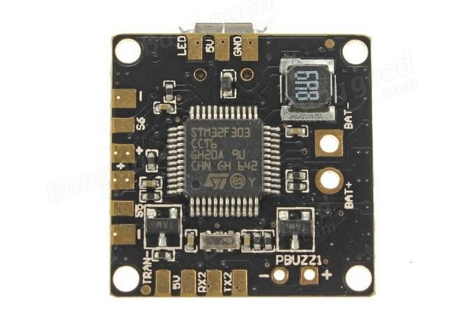 Acro Mini PBF3 EVO 6DOF with MPU6000 SPI 5V 3A BEC(20x20mm)