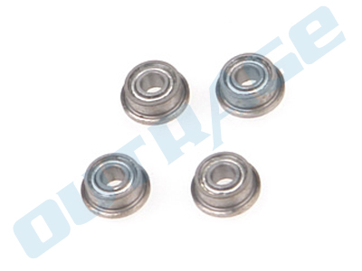 R550618-4 OUTRAGE Flanged Ball Bearing 2 x 5 x2.3mm in lower mix