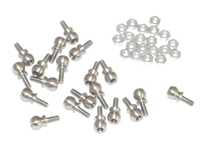 RF50357-SS OUTRAGE Servo Linkage Ball Set 20pcs - Fusion 50