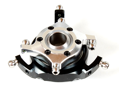 RF50361-SS -OUTRAGE Aluminum Swashplate flybarless - Fusion 50