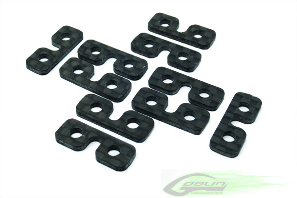 H0075-S Carbon Fiber SERVO SPACER (10pcs)