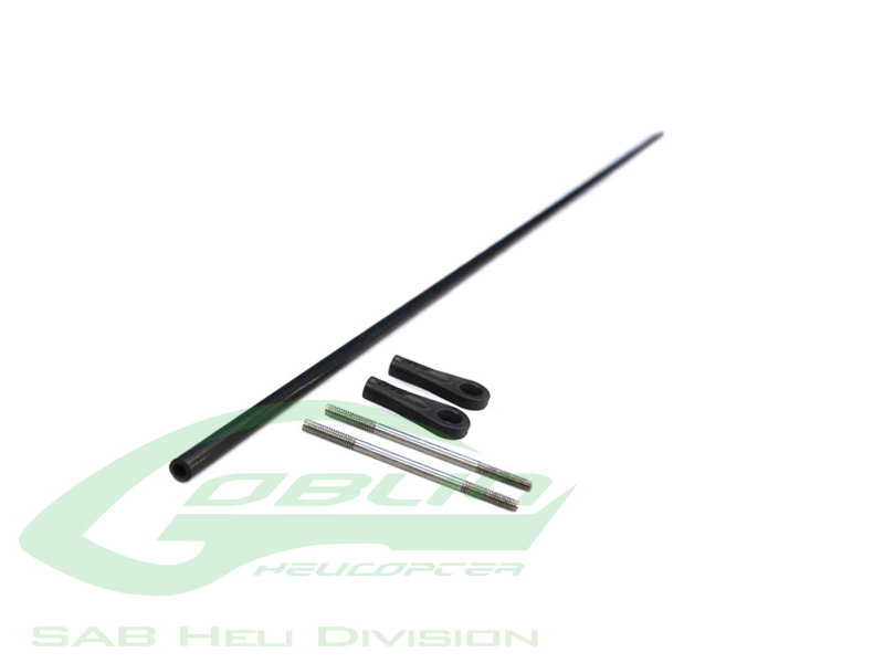 HC235-S Carbon Fiber Tail push rod Ø4 x Ø2,5 x 596