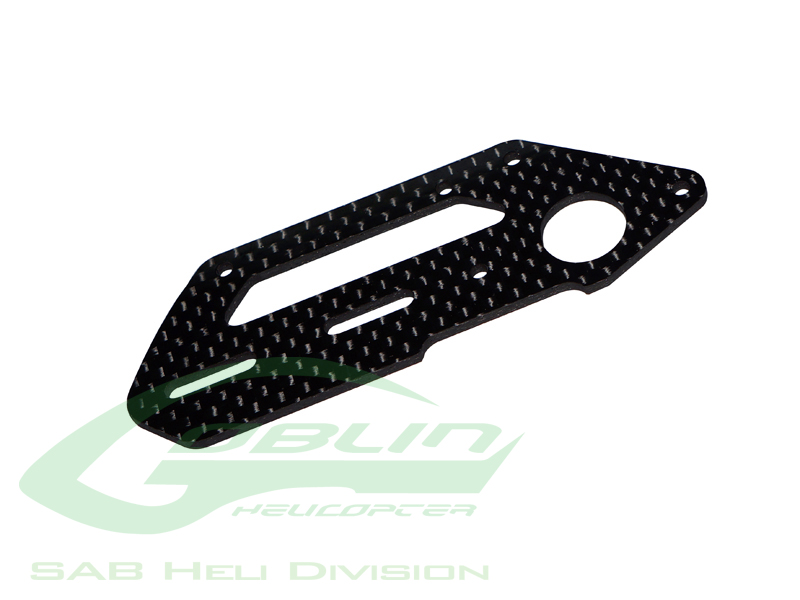 H0243-S Carbon Fiber Tail Side Plate