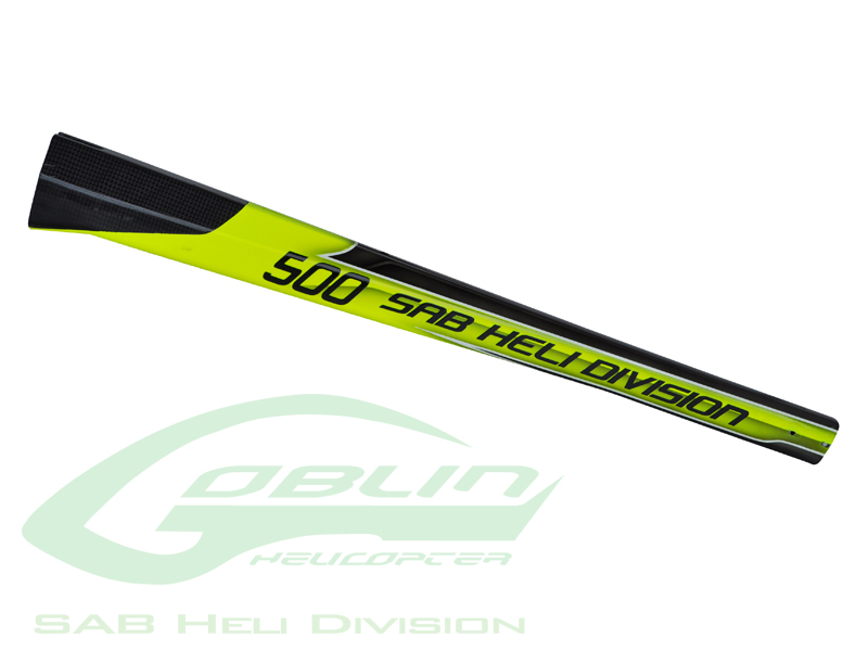 H0278-S Carbon Fiber Tail Boom Yellow/Black