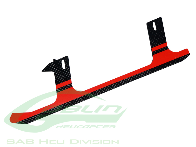 H0285-S Carbon Fiber Landing Gear Red(1pc)