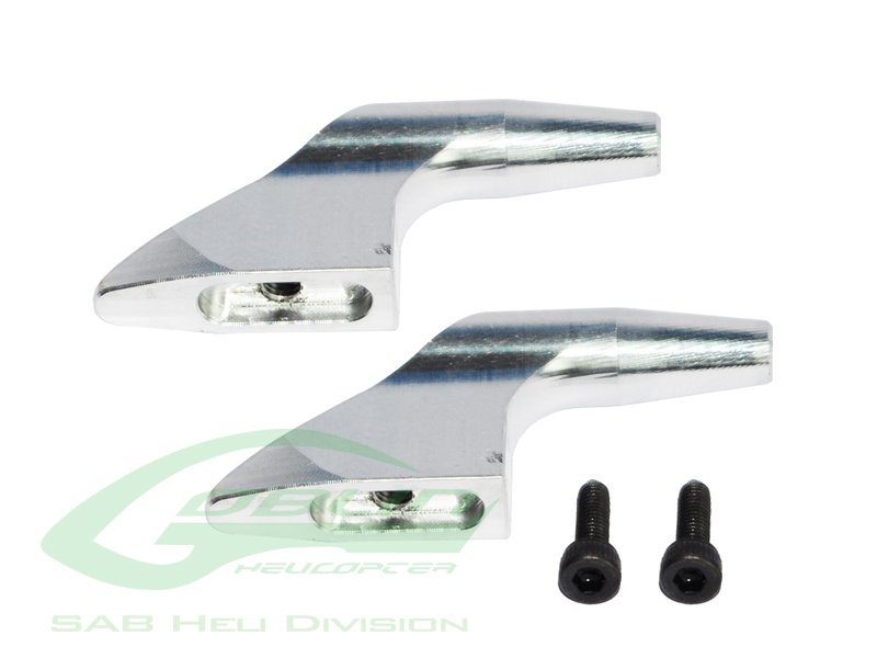 H0183-S Aluminum Main Blade Grip Arm (New Design) - Goblin 700/7