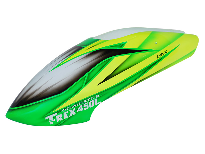 LX450L012 - TREX 450L - Air Brushed - Fiber Glass Canopy