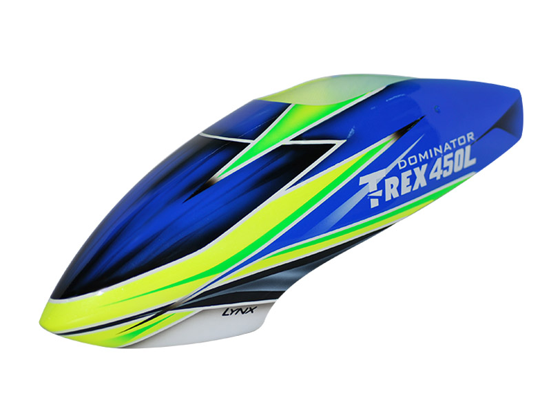 LX450L015 - TREX 450L - Air Brushed - Fiber Glass Canopy