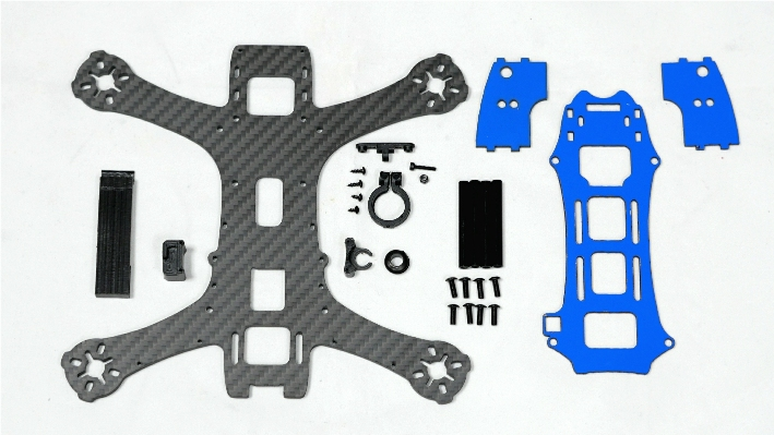 MAK GRAVY 198 V2 Racing Quadcopter Frame Kit