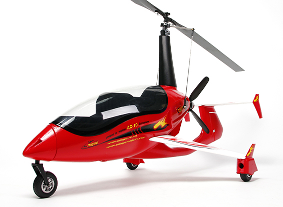 Arrowcopter AC-10 Gyrocopter EPO 1320mm (PNF)