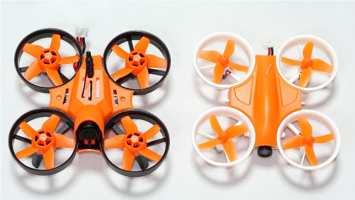 Warlark-85 Pro Brushless FPV Whoop(SFHSS) Orange 完成機