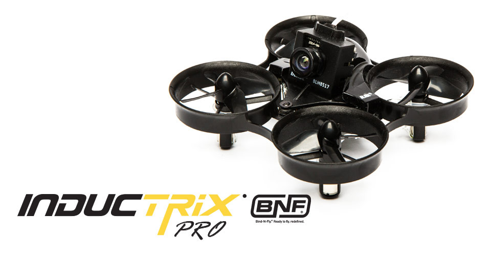 Blade Inductrix FPV PRO BNF with SAFE Technology ※入荷