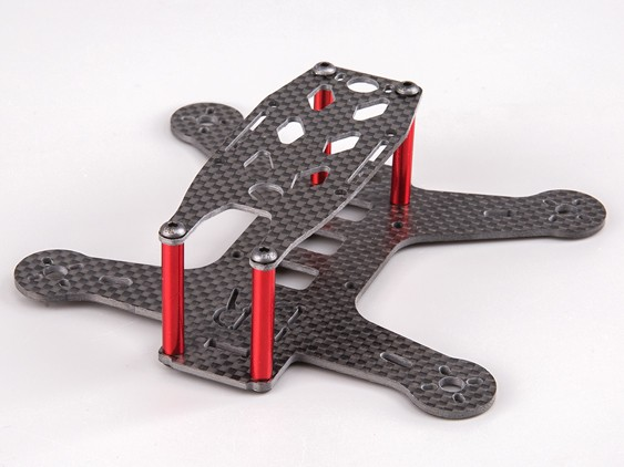 BeeRotor 130mm Carbon Fiber Mircro Quad FPV Racer Frame