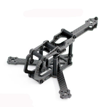 Cerberus Y4 110mm CF 2.5mm Arm FPV Racing Frame Kit