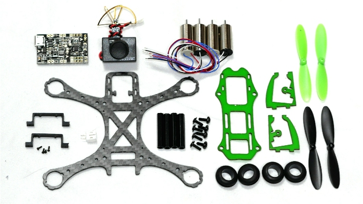 MAK GRAVY 100 Micro Quadcopter ARF Kit