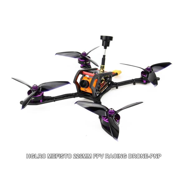 "HGLRC 4-5s 5"" Mefisto FPV RACING DRONE PNP"