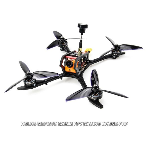 "HGLRC 5-6s 5"" Mefisto FPV RACING DRONE PNP"