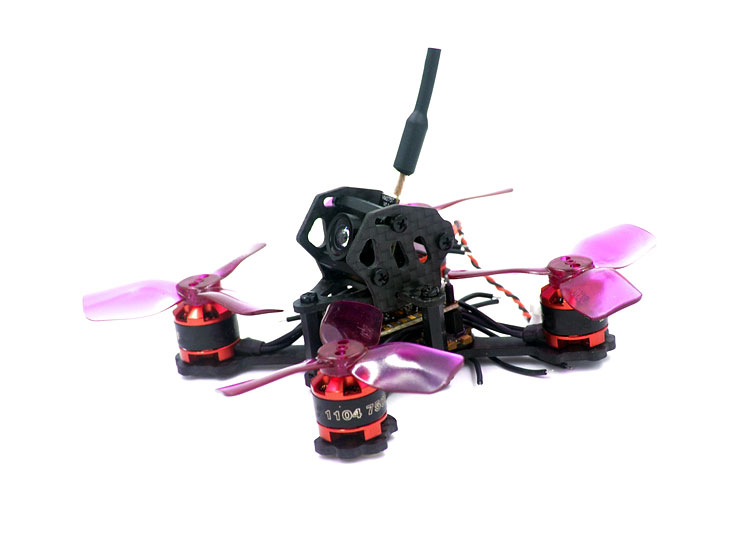 X2 EYAS 80mm Micro Brushless FPV Racing Frame Kit