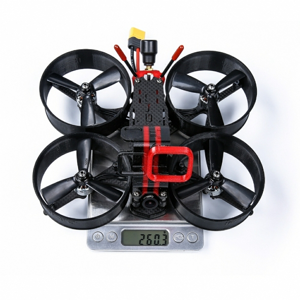 MegaBee V2 3inch FPV Drone with GoPRO mount - BNF(Futaba)
