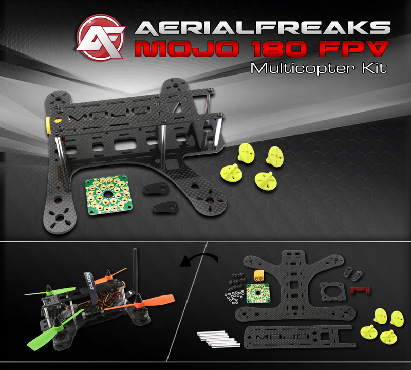 AerialFreaks MOJO 180 FPV Multicopter Kit