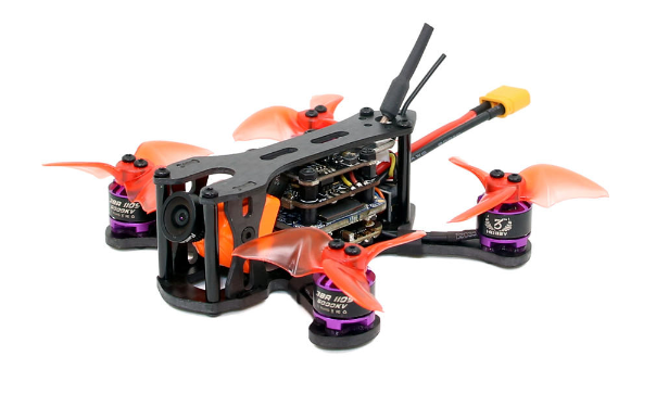 SPC-K1 95mm HD-DVR FPV Racing Drone - S-FHSS受信機付