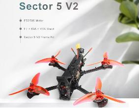 HGLRC Sector V2 5 inch FPV Racing Drone 4S-PNP