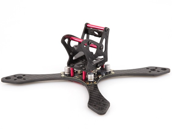 BeeRotor Thunderbolt 190 4mm FPV Racing Quadcopter with PDB