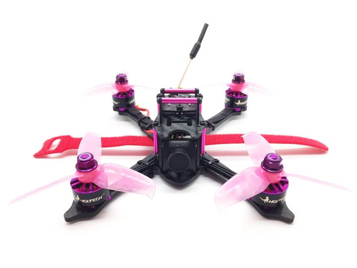 HGLRC XJB F428 145mm PNP FPV Racing Drone Purple
