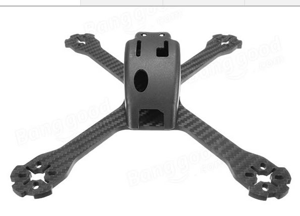 Realacc XS220E 4mm Thickness Carbon Fiber Frame Kit - ウインドウを閉じる