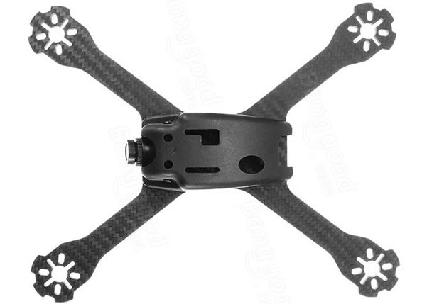 Realacc XS220E 4mm Thickness Carbon Fiber Frame Kit