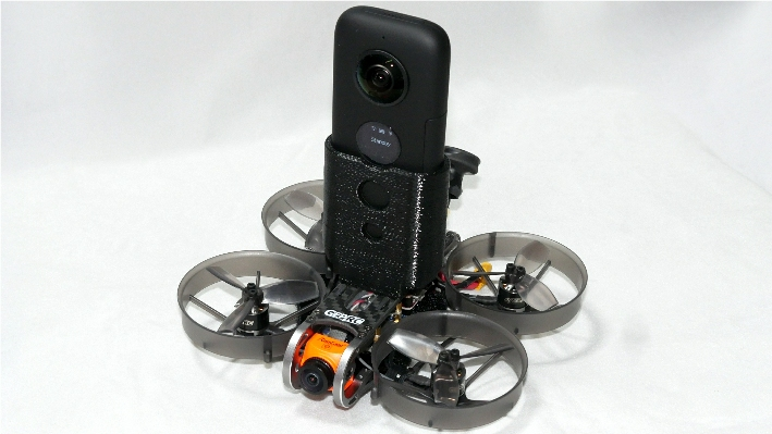 GEP-CX2 FPV Drone with Insta360 one X ep-ver (S-FHSS受信機付)完成機※受注生