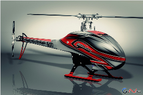 SAB GOBLIN 500 Flybarless Electric Helicopter Kit Red/White ※お取り
