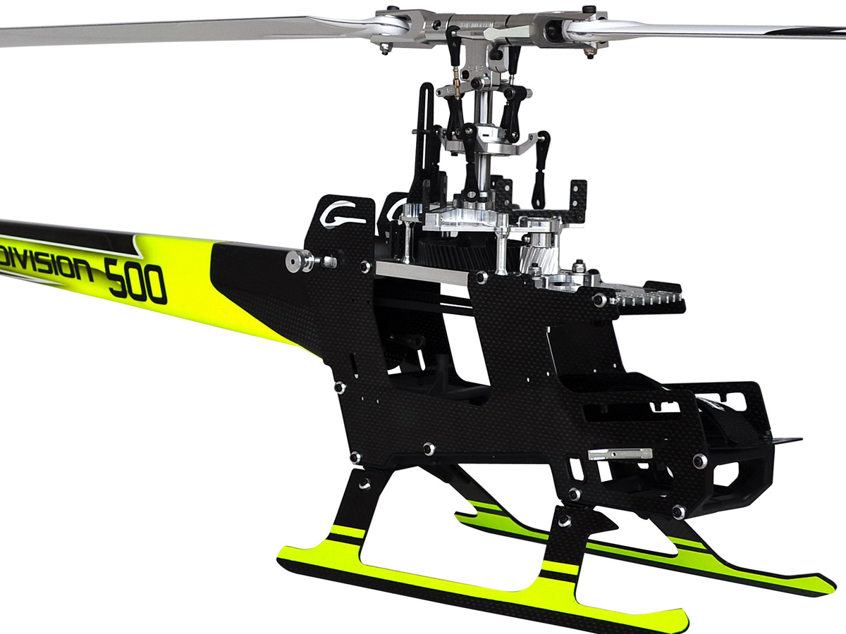 SAB GOBLIN 500 Flybarless Electric Helicopter Kit Yellow/Black ※