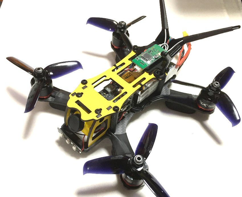 MAK GRAVY 150 V3 Racing Quadcopter(Dry Carbon) 完成機 ※受注生産
