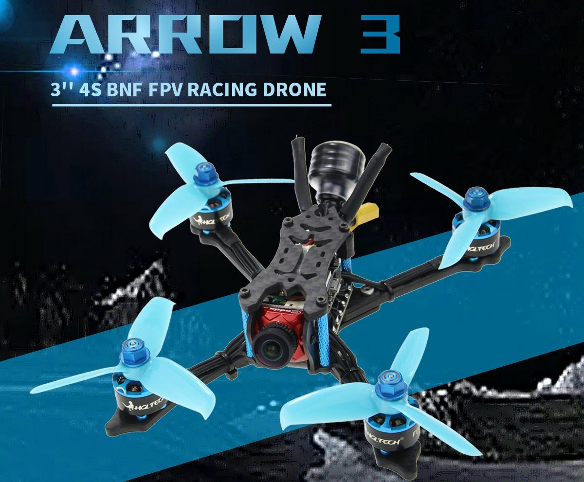 HGLRC Arrow3 4S FPV Racing Drone PNP